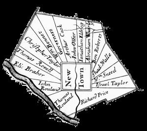 Thomas Holme map, 1687