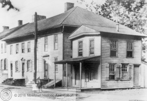 The Bird-in-Hand Tavern, c. 1870
