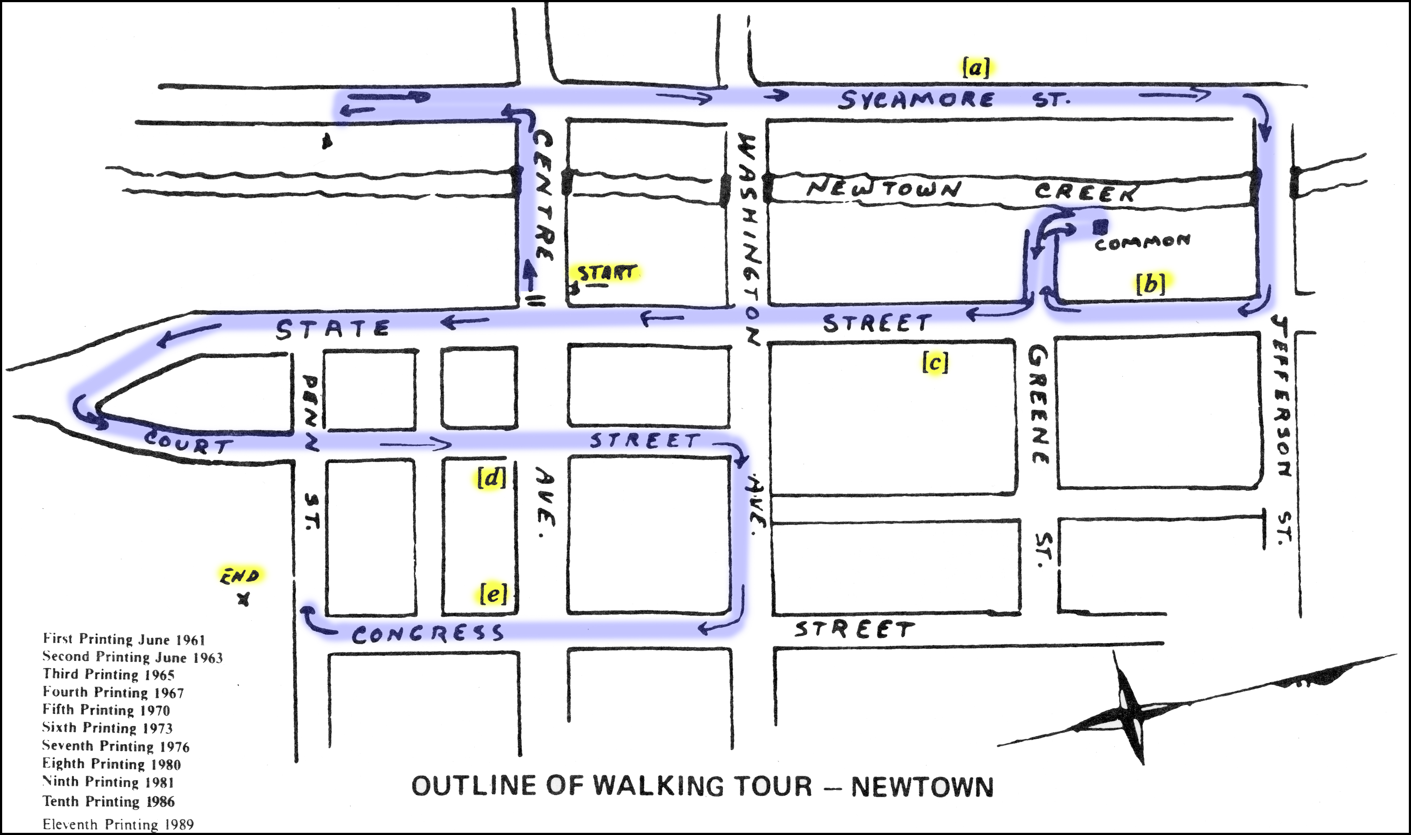 Two Years Post Newtown Whats Changed >> A Walking Tour Of Newtown Newtown Historic Association